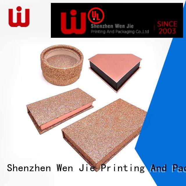 WenJie rolling cosmetic gift box supplier for beauty shop