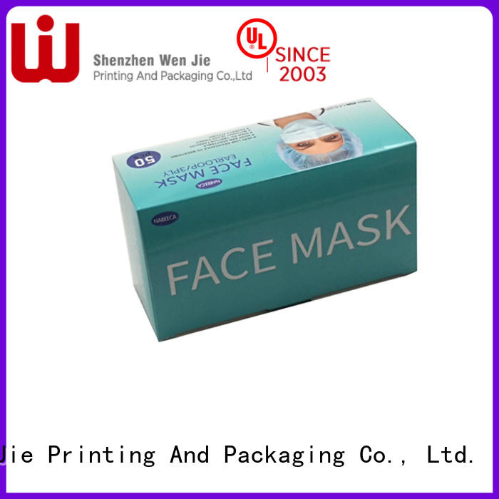 WenJie glass printed boxes wholesale manufacturers for shipping