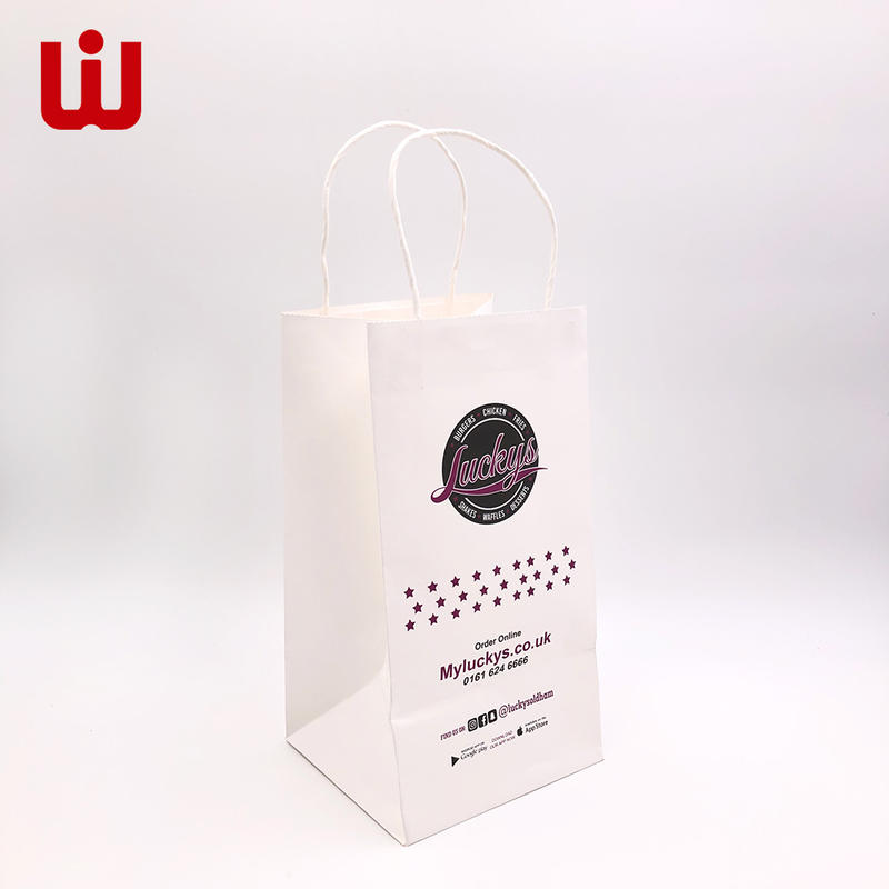 WenJie years brown paper bag co manufacturers for shopping