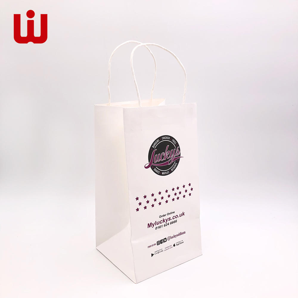 Wholesale small brown paper favor bags paper China wholesale for store