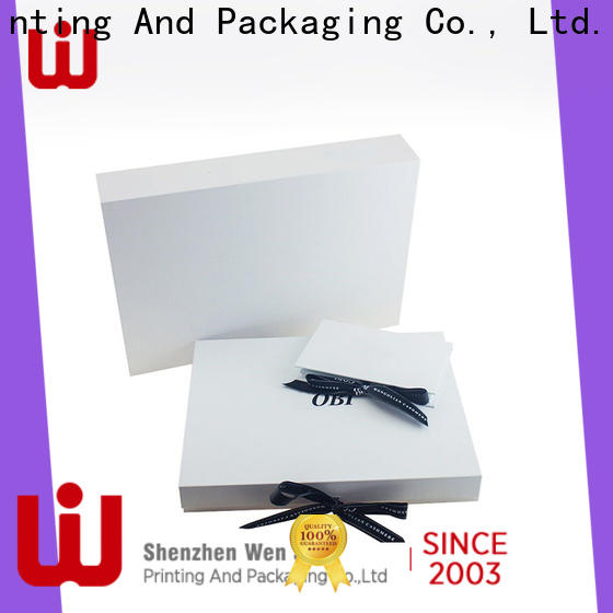 WenJie paper folding chocolate box for business for shop