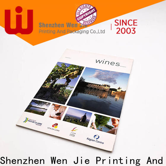 WenJie catalogbrochure low price catalogs Suppliers for shop