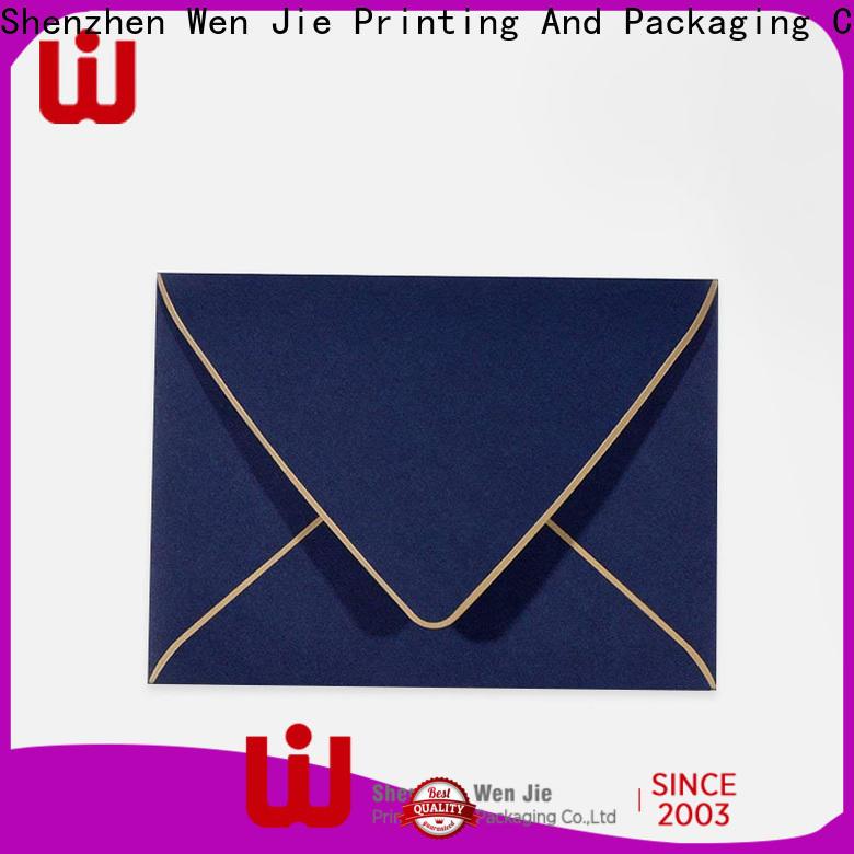 WenJie New custom remittance envelopes Supply for store
