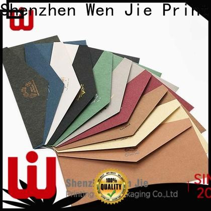 WenJie design full color flyer printing Suppliers for book store