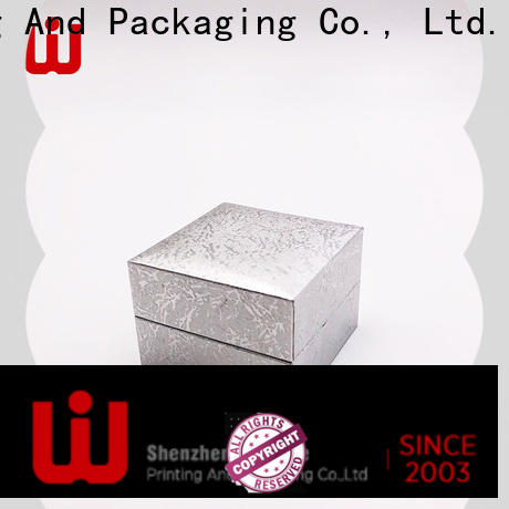WenJie sample big gift box with lid on sale for jewelry store