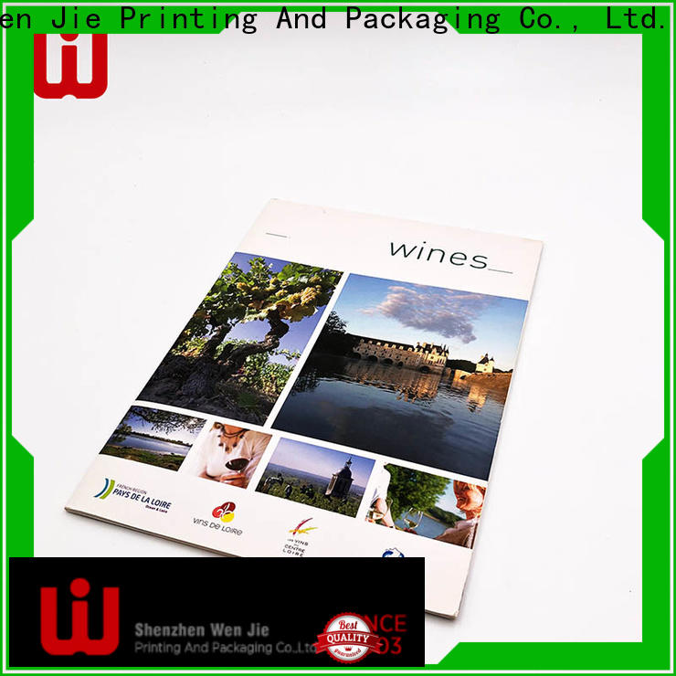 WenJie High-quality custom printing business manufacturers for shop