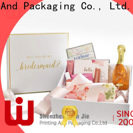 WenJie porcelain fold flat box company for wrapping