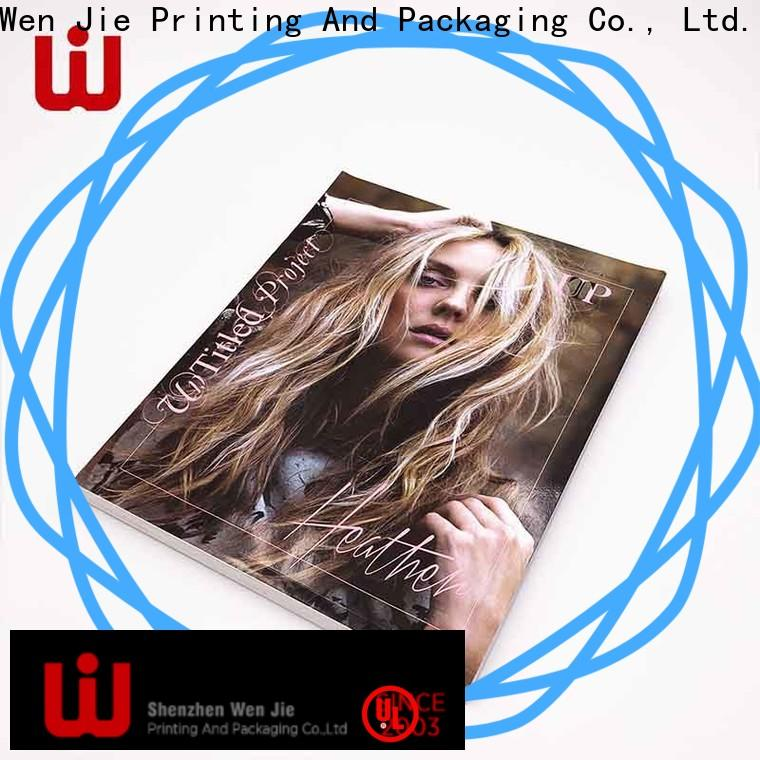 Custom 24 printing services magazinebook for business for book store