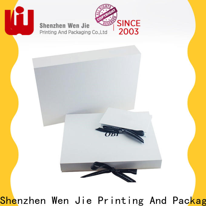 WenJie extension folding jewelry box factory price for packing