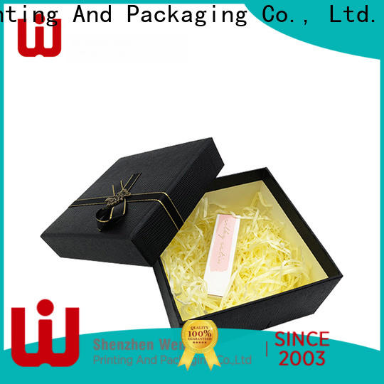 special plain white gift box luxury company for supermarket