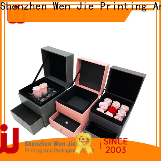 WenJie packaging big cardboard gift box factory for store