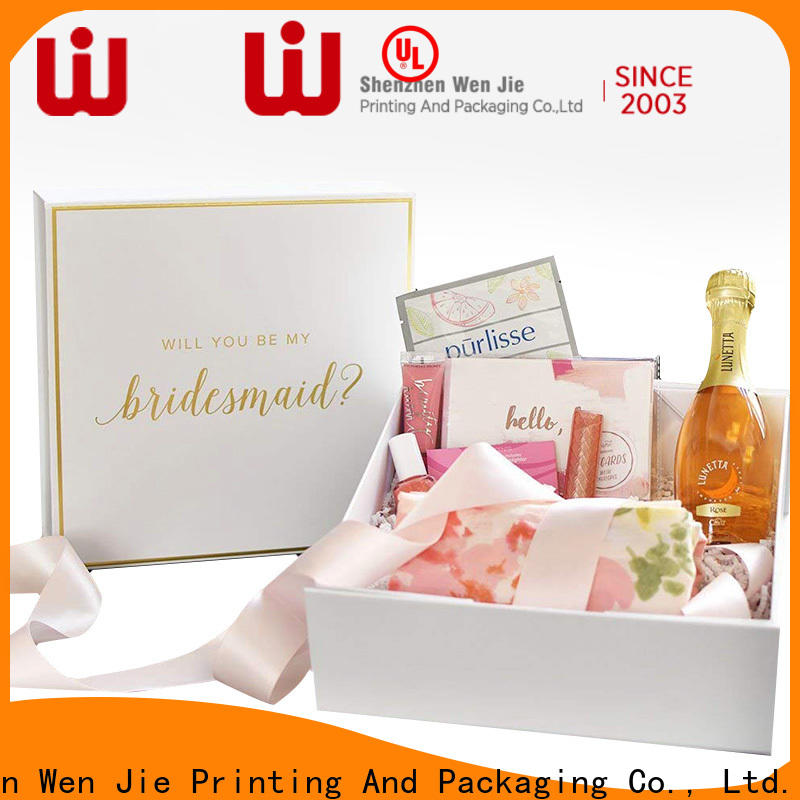 WenJie Latest 9x12 gift box Suppliers for shoppe
