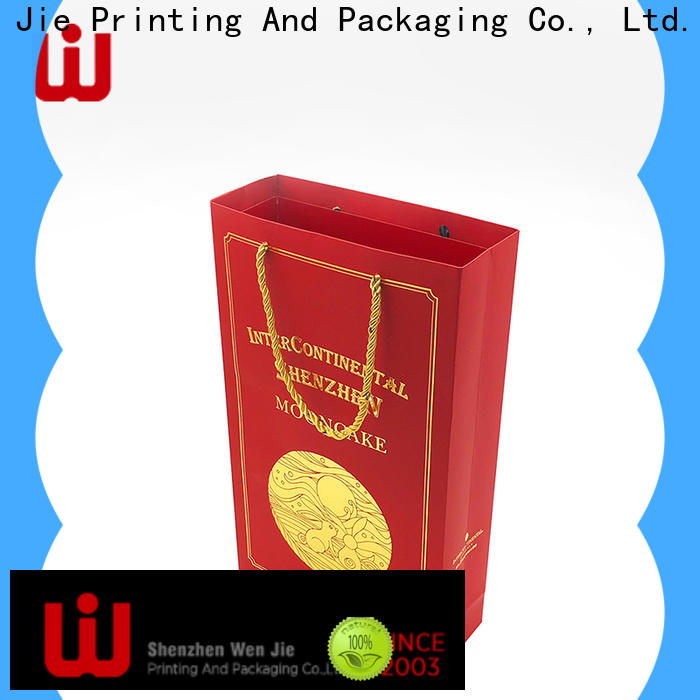 WenJie Best flat brown paper bags with handles for shopping