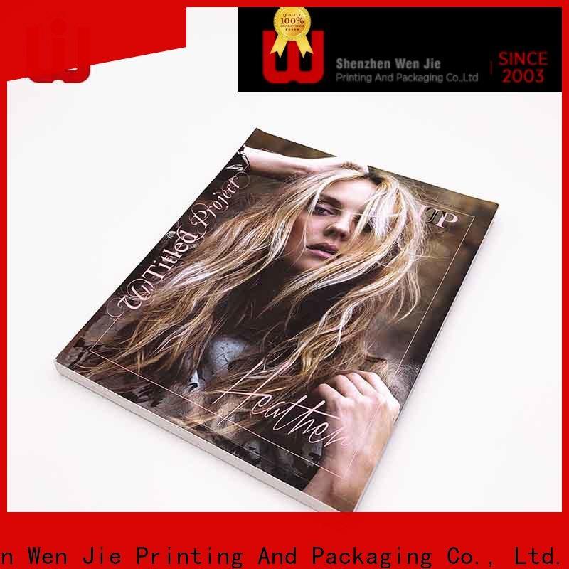 good quality digital printing brochure direct online for press