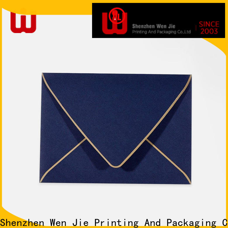 WenJie printing coloring postcards wholesale for wedding