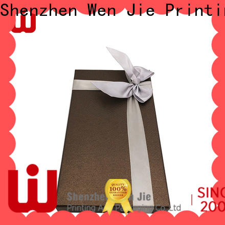 WenJie Custom cheap large gift boxes with lids wholesale for beauty store