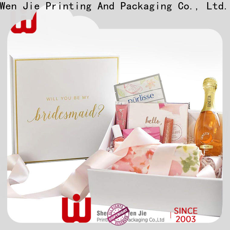 WenJie Latest folding boxes uk for business for shoppe