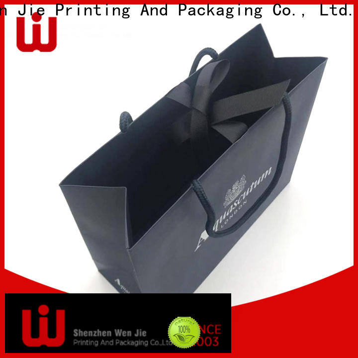 WenJie hand paper pouches wholesale directly price for store
