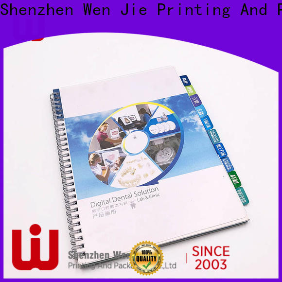 High-quality booklet printing pages catalogbrochure manufacturers for shop