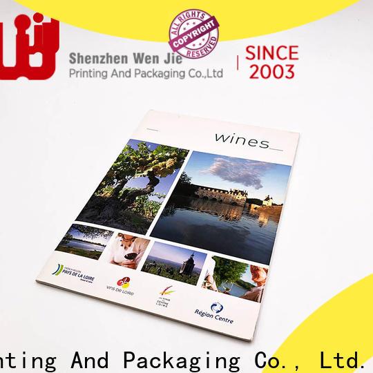 WenJie printing mini brochure printing factory for store