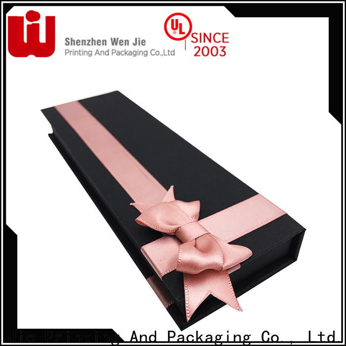WenJie customized magnetic closure gift box suppliers manufacturers for gift