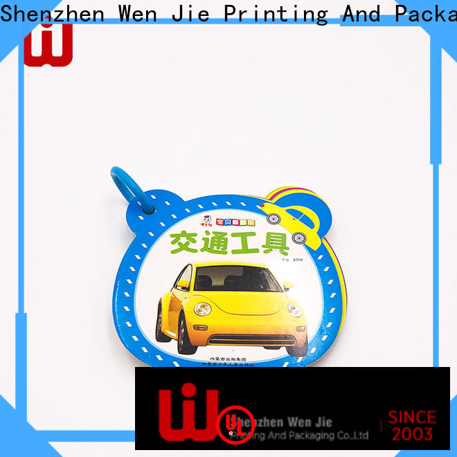 WenJie magazine brochure printing small quantity for business for publisher