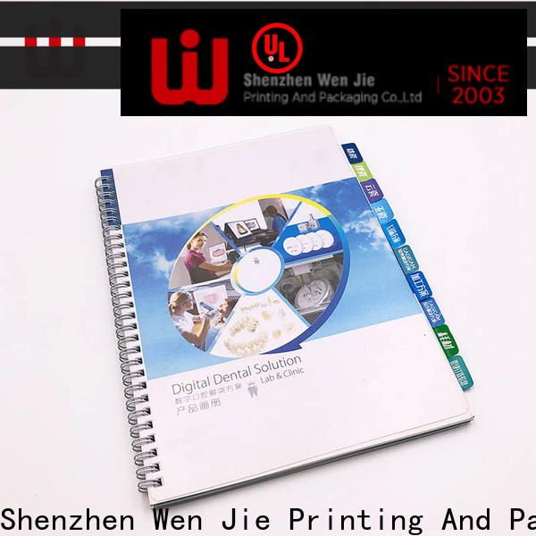 WenJie catalogbrochure magazine printing cost on sale for publishing house