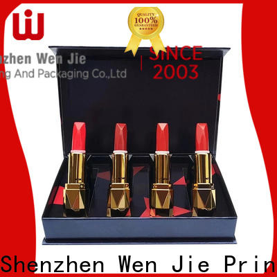WenJie High-quality beauty bags and boxes directly price for store