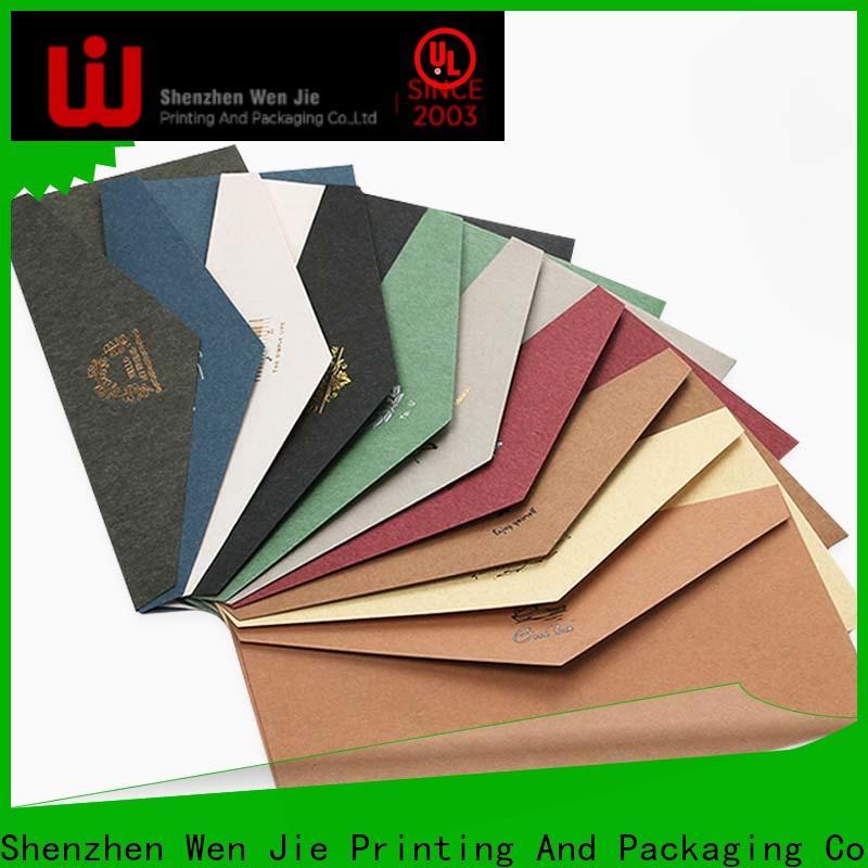 fancy custom mini envelopes printing Supply for book store