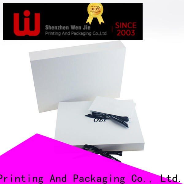 WenJie elegant cylindrical paper box company for packing
