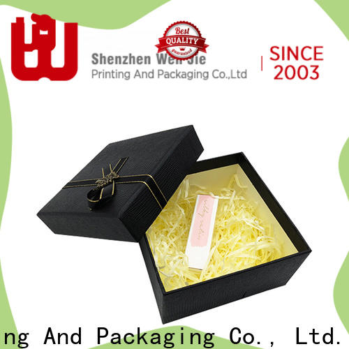 WenJie luxury large pre wrapped gift boxes Supply for beauty store