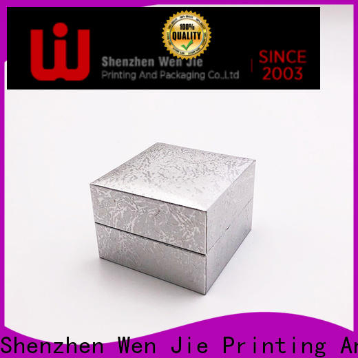 WenJie box cheap large gift boxes with lids factory price for jewelry store