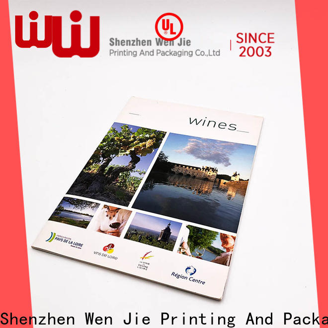 WenJie New high quality business card printing manufacturers for restaurant