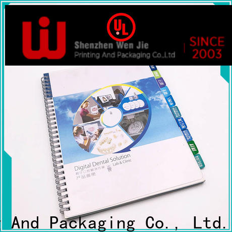 WenJie professional cheap digital booklet printing manufacturers for publishing house