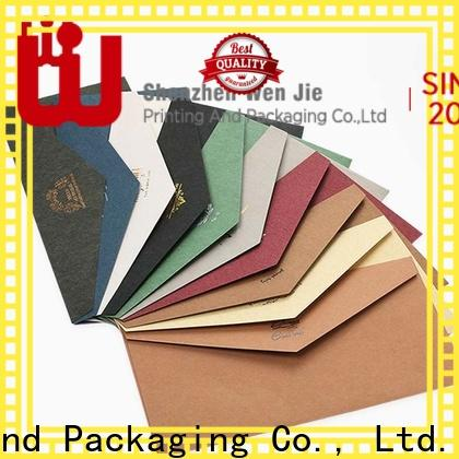 WenJie Best made to order envelopes wholesale for store