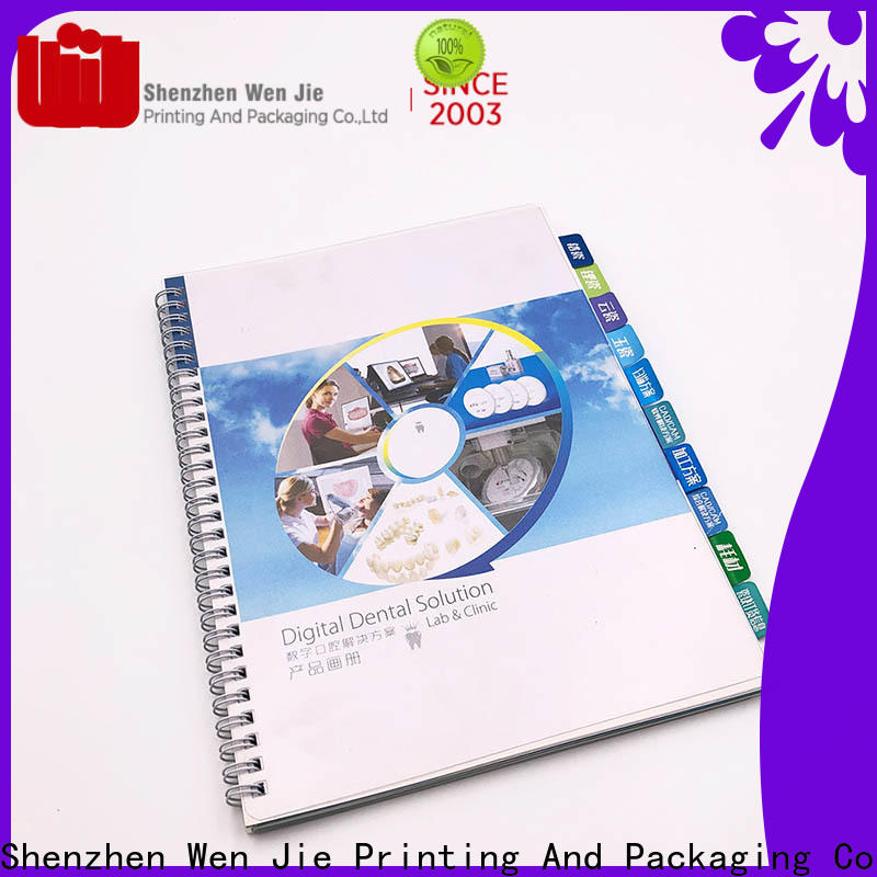 WenJie Wholesale make your own magazine free for business for publishing house