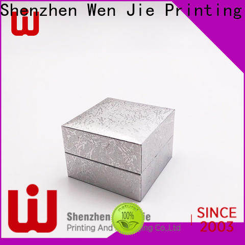 WenJie fancy small gift boxes with lids Supply for jewelry store