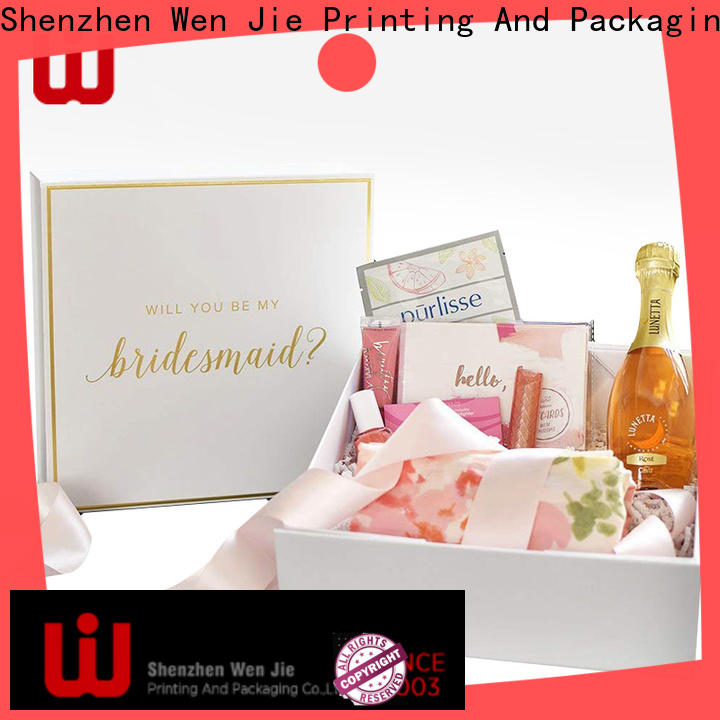 WenJie rolling luxury gift box suppliers Supply for shop