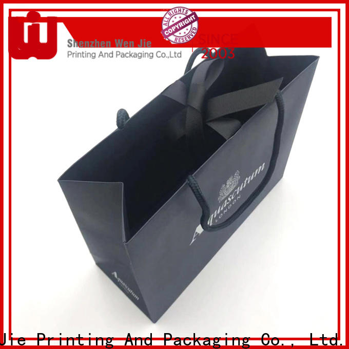 WenJie white discount paper bags Suppliers for shopping