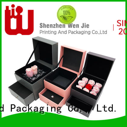 WenJie High-quality long gift boxes with lids Supply for shop