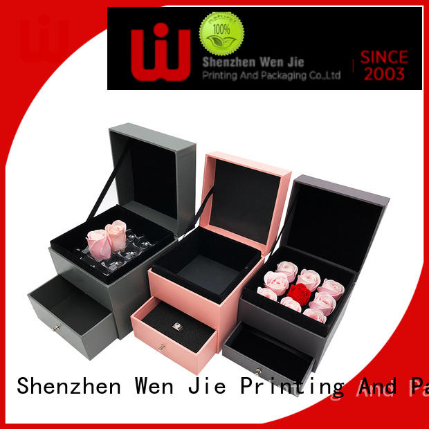 WenJie gift xmas gift boxes design for shop